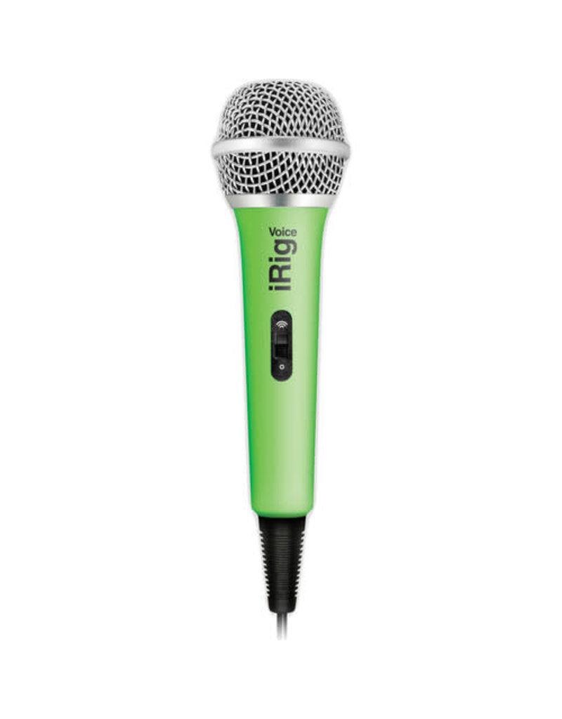 IK Multimedia IRIG VOICE MICROPHONE -  GREEN