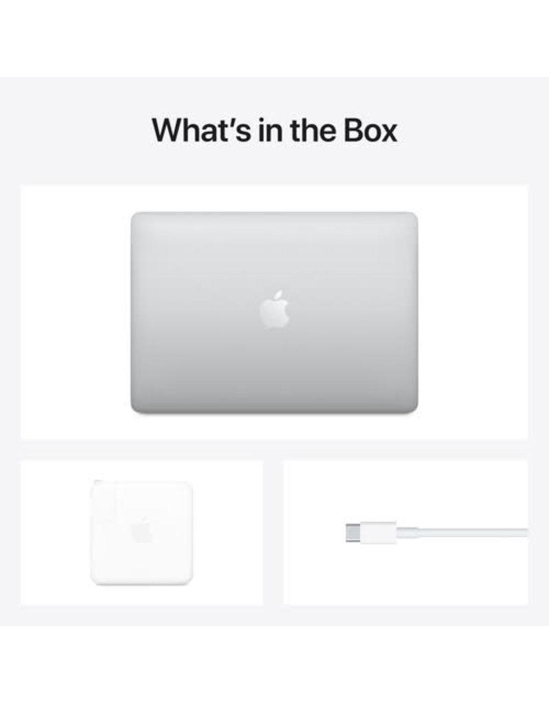 "APPLE Apple 13.3"" MacBook Pro M1 Chip with Retina Display (Late 2020, Silver) Apple M1 8-Core CPU 8GB Unified RAM   256GB SSD 13.3"" 2560 x 1600 IPS Retina Display 8-Core GPU"