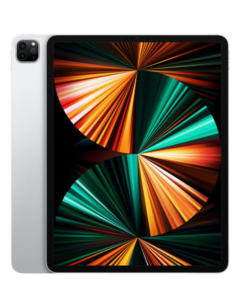 """APPLE Apple 12.9"""" iPad Pro M1 Chip (Mid 2021, 128GB, Wi-Fi Only, Silver)"""