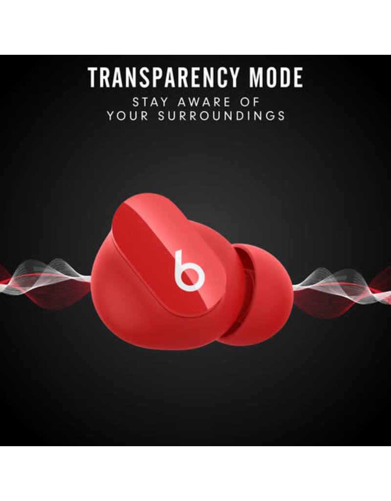 BEATS Beats by Dr. Dre Studio Buds Noise-Canceling True Wireless In-Ear Headphones (Red)