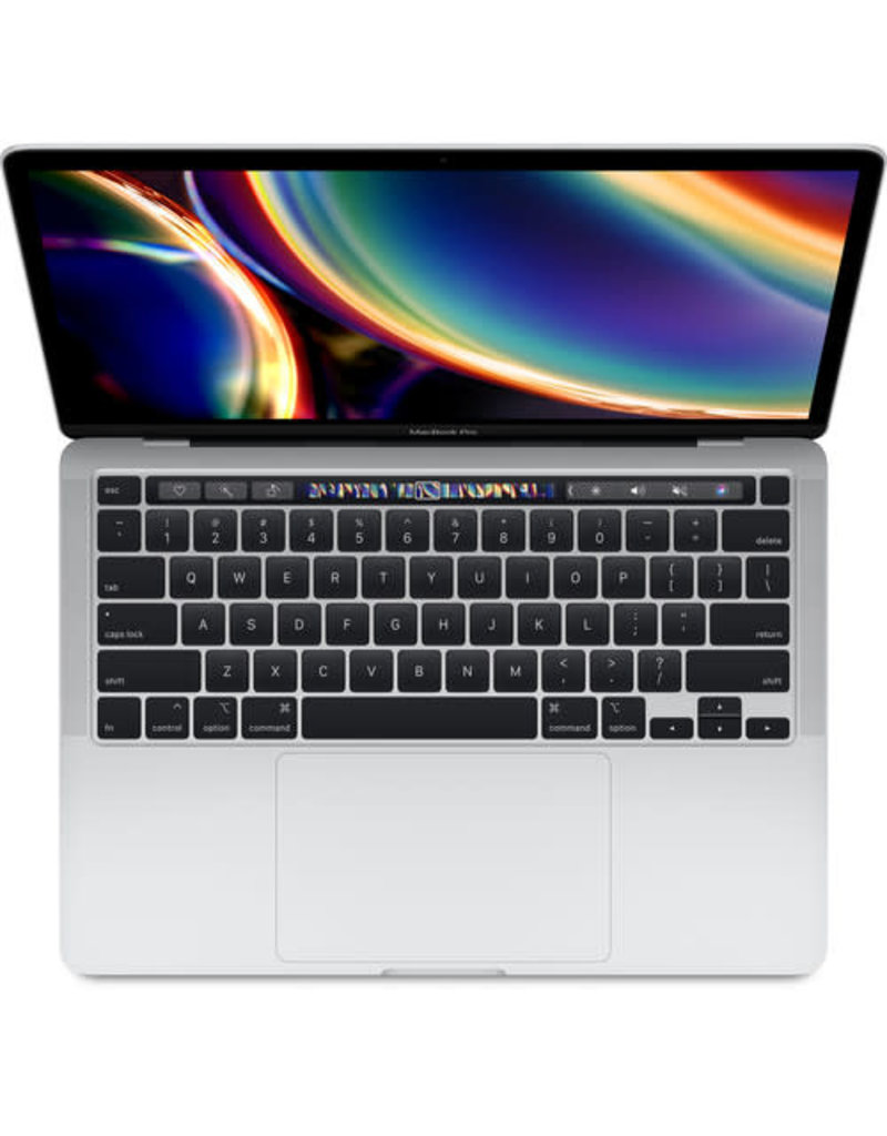 """APPLE Apple 13.3"""" MacBook Pro with Touch Bar & Touch ID, Mid 2020 Silver  2.0 GHz Intel Core i5 Quad-Core / 16GB LPDDR4X RAM / 512GB PCIe SSD"""