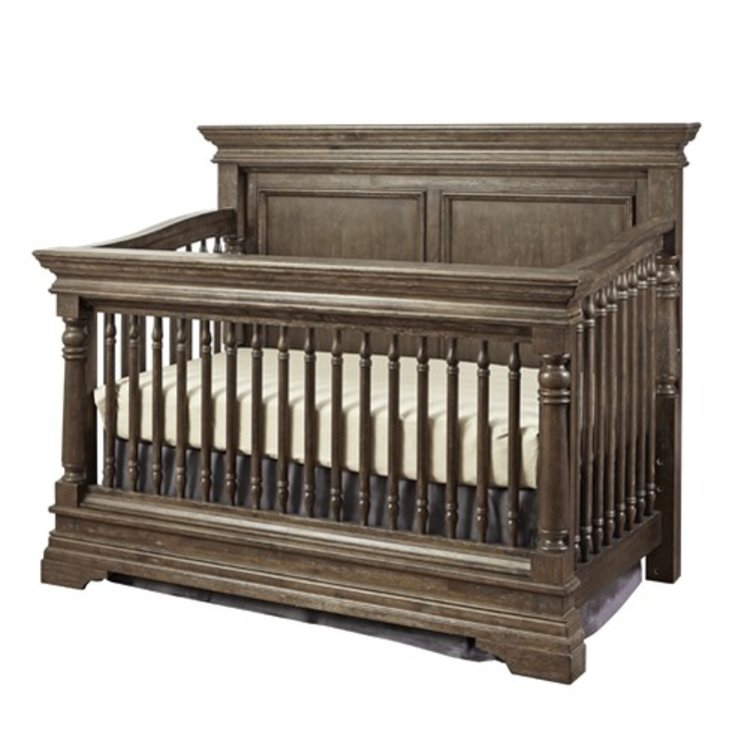 Kid Cafe Furniture: Stella Baby And Child Kerrigan Convertible Crib In Cafe Au