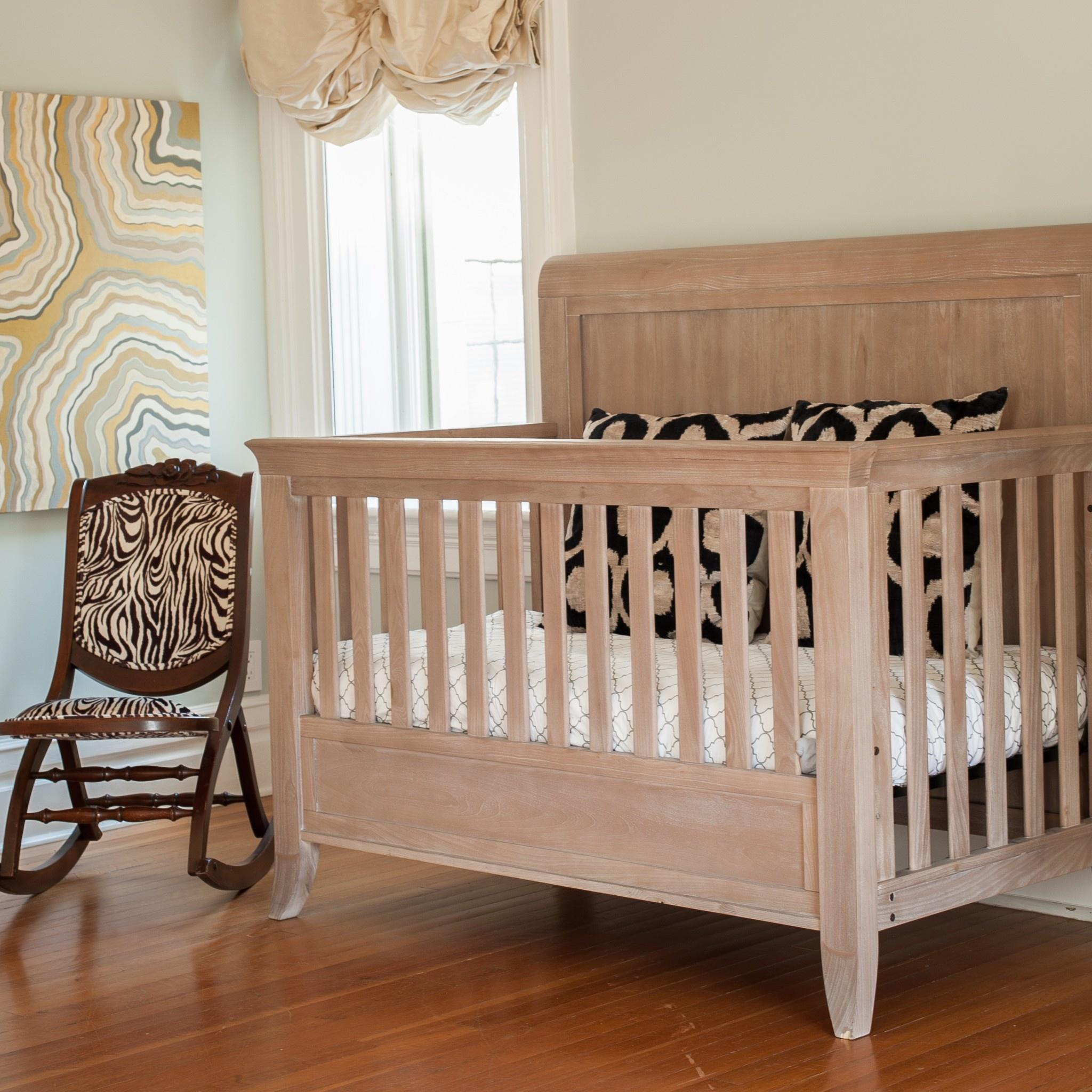 - CAMEO Sleigh Convertible Crib - Bellini Baby And Teen Furniture