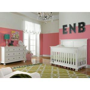 Dolce Babi Naples Double Dresser Snow White Bellini Baby