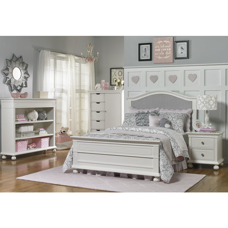 Dolce Babi Naple Hutch Bookcase Snow White Bellini Baby And Teen Furniture