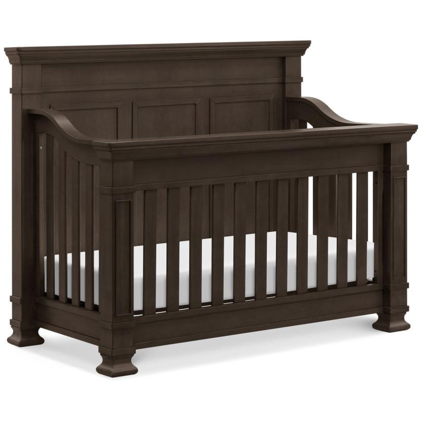 Tillen 4 In 1 Convertible Crib In Truffle Bellini Baby