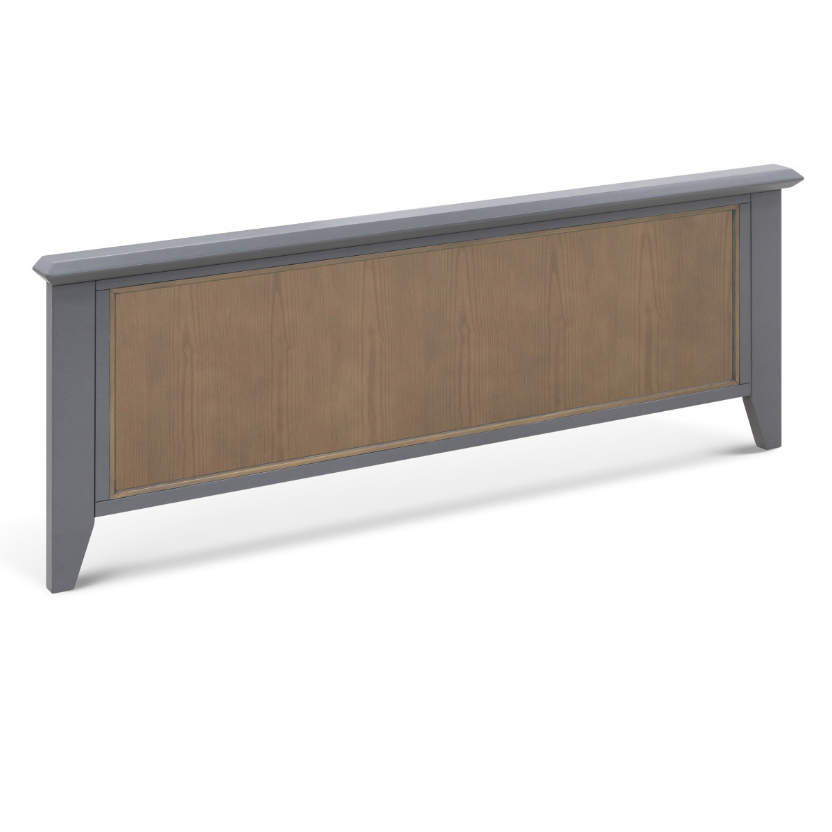 Beckett Low Profile Footboard In Stone And Dark Ash