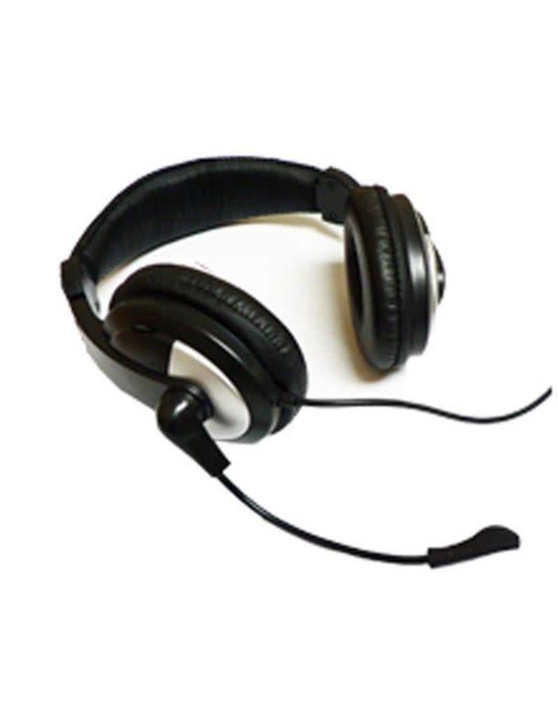 Agiler Agiler AGI-0217  Deluxe Headset with mic. And volume control