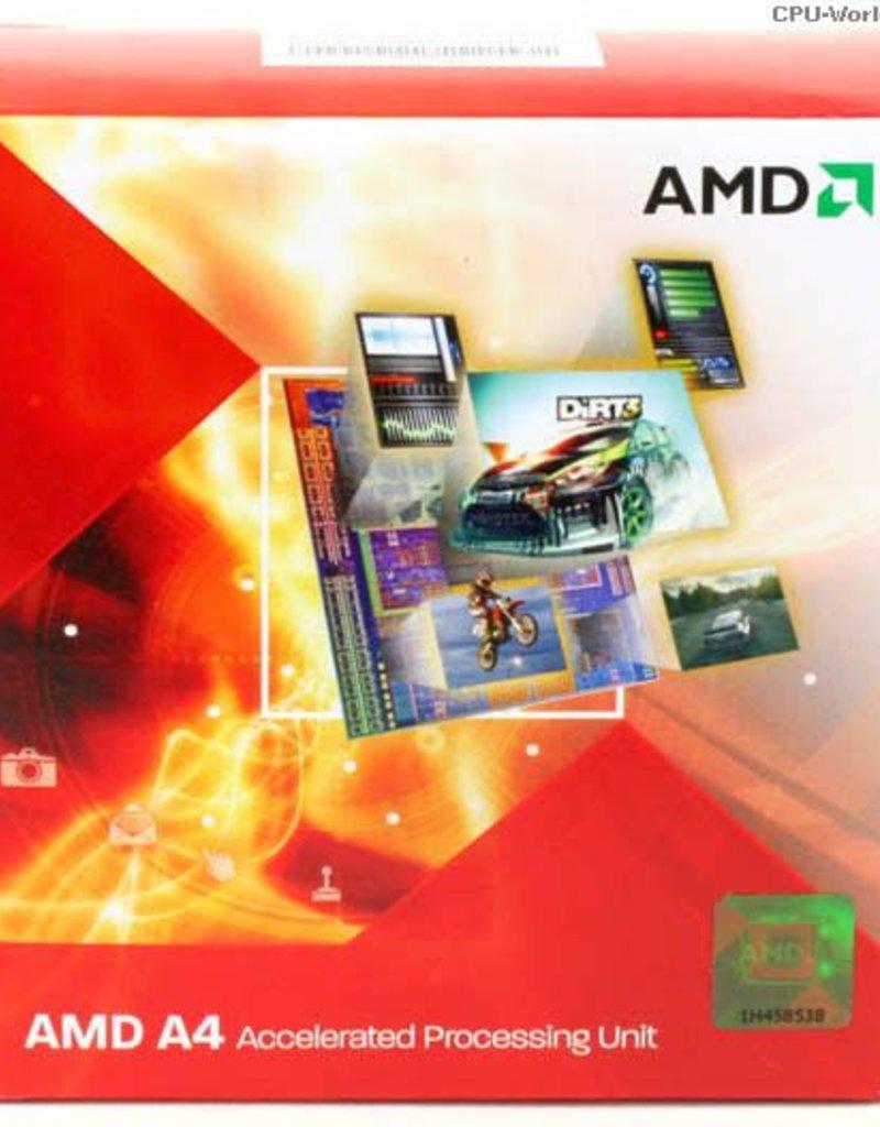 AMD AMD A4-3300X2 2.5GHZ