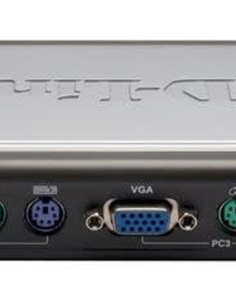 D-Link D-Link 4 Port Ps/2 KVM Switch