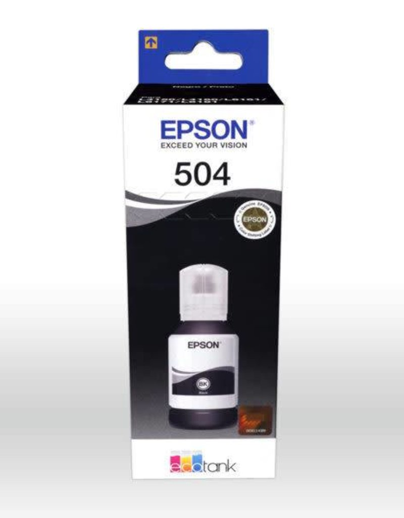 Epson Epson 504 Black Ink Cartridge T504120