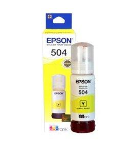 Epson Epson 504 Yellow Ink Cartridge