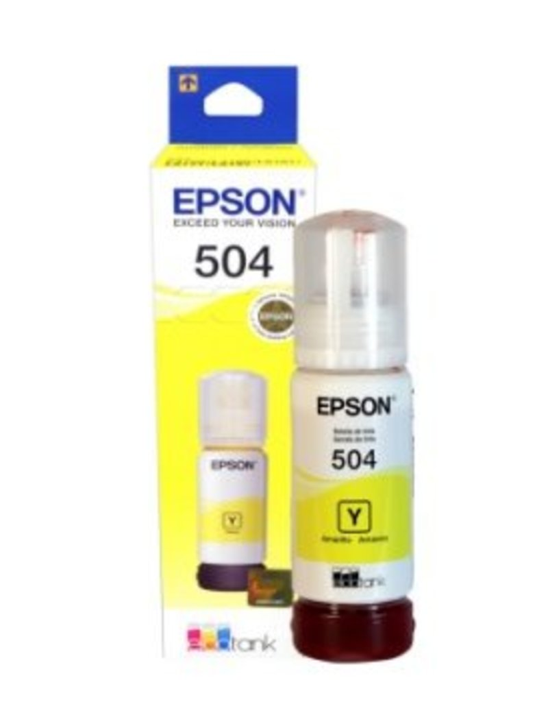 Epson Epson 504 Yellow Ink Cartridge T504420