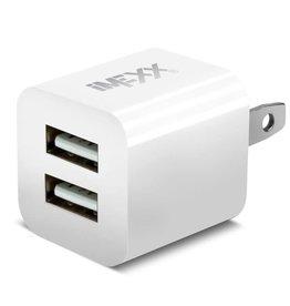 IMEXX iMexx 2Port USB Charger -White IME-41241