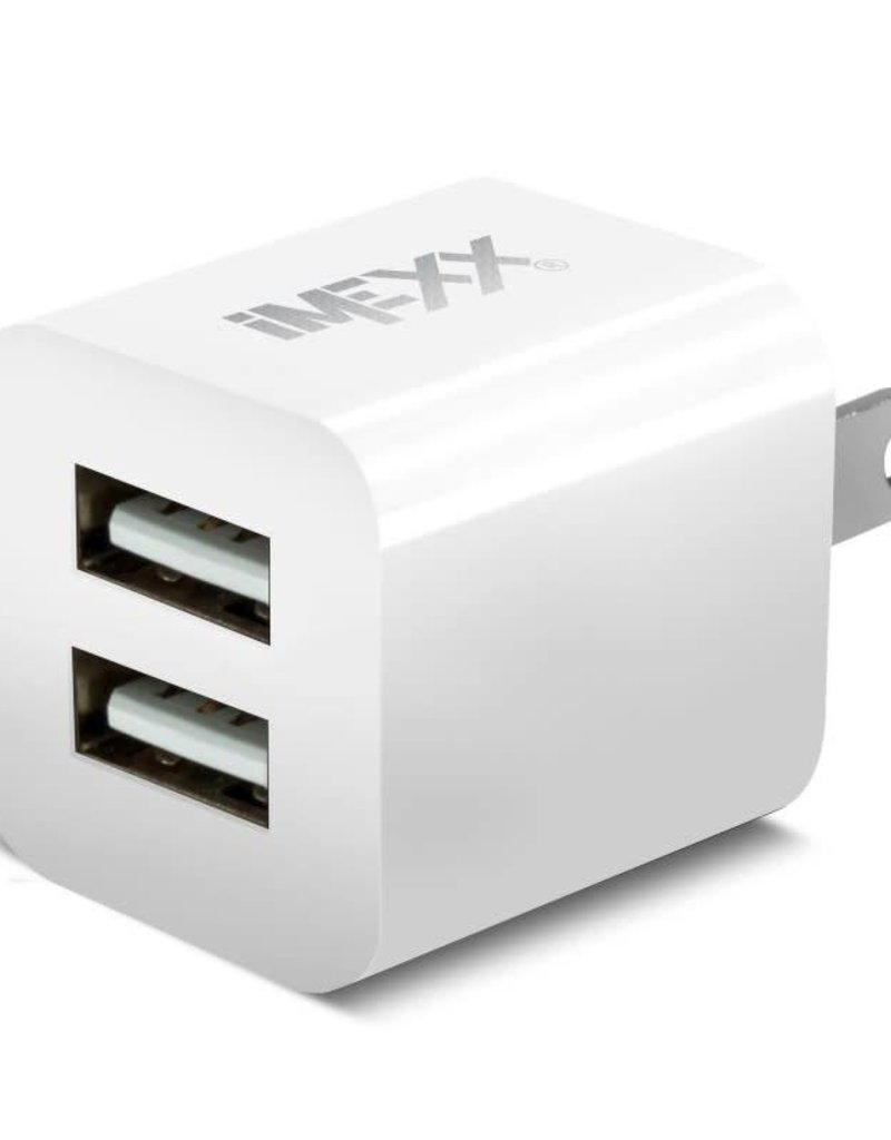 IMEXX iMexx 2Port USB Charger -White IME-41241