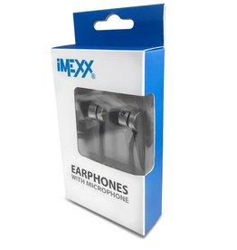 IMEXX iMexx Earphone with Microphone IME-21556 Black