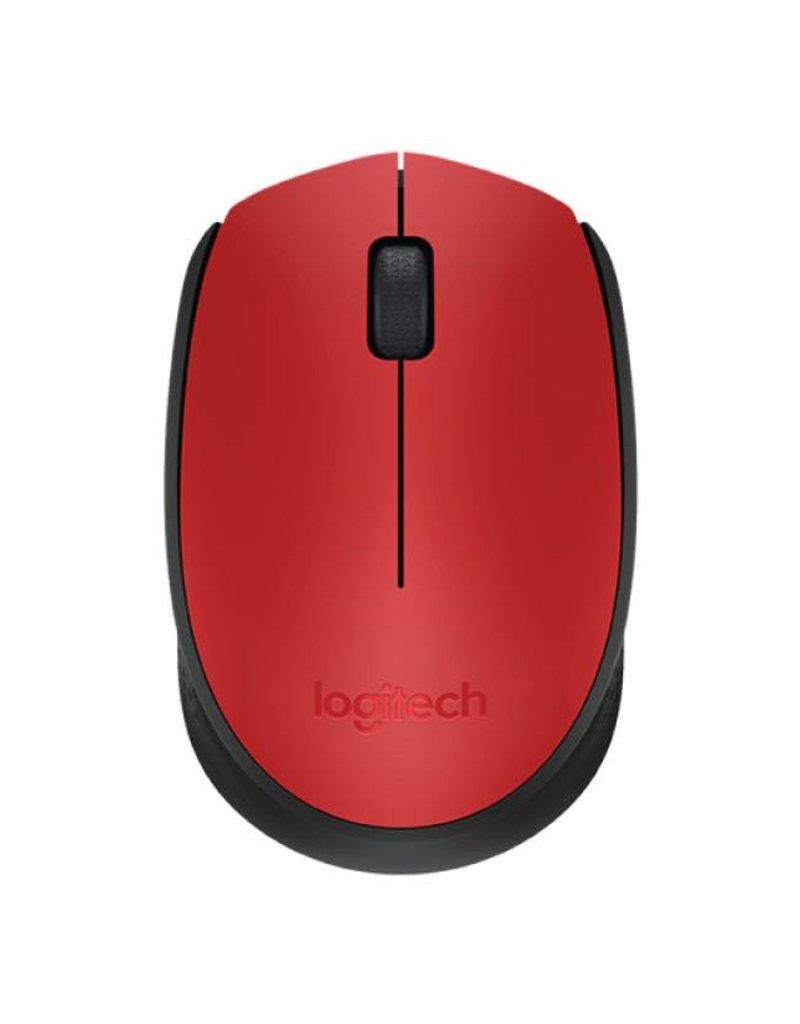 Logitech Logitech M170 Wireless Mouse Red 910-004941