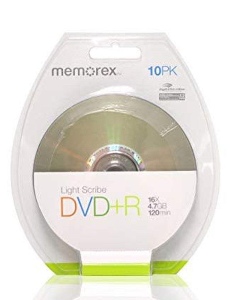 Memorex Light Scribe DVD+R 10Pk