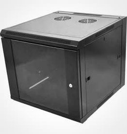 Nexxt 9U Fixed Wall Mount Enclosure PCRWESKD09U45FXBK