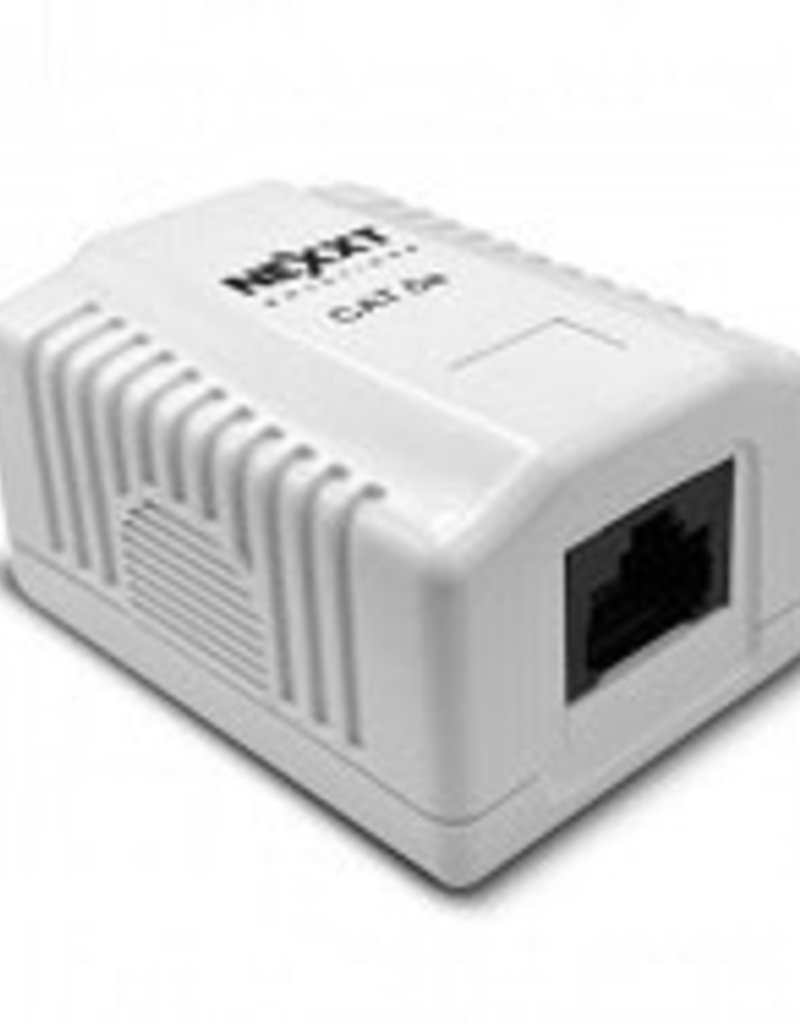 Nexxt Surface Mount Box  Cat5E AE180NXT03
