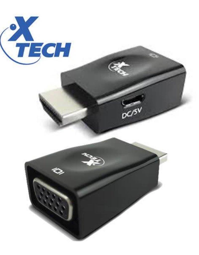 Xtech Xtech HDMI male to VGA Female Adapter XTC-361