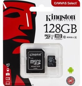 Kingston 128GB Micro SDXC With Adapter SDCS/128GB