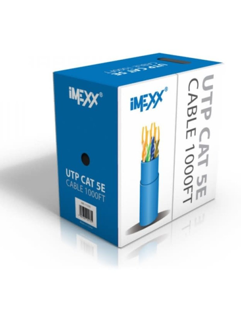 IMEXX iMexx UTP Cat 5E Cable 1000ft GRAY IME-11234