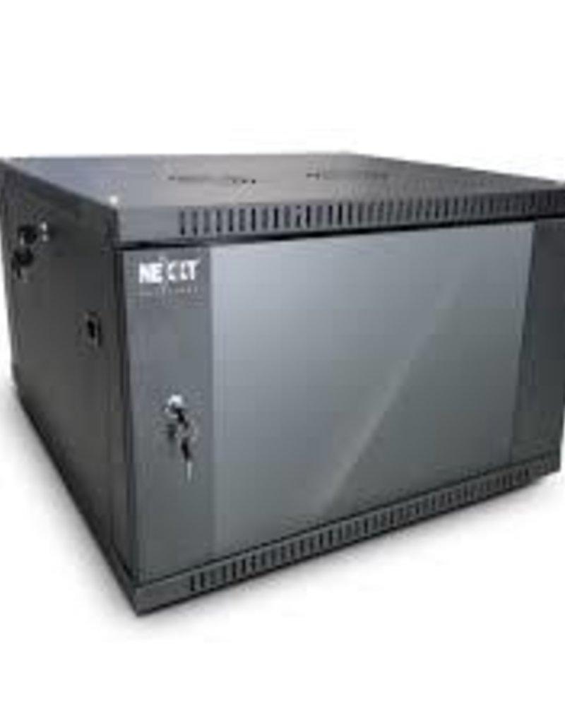 Nexxt Nexxt 6U Fixed Wall Mount Enclosure PCRWESKD06U55BK