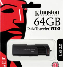 Kingston Kingston 64GB Flash Drive DT104/64GB