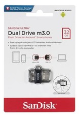 Sandisk Sandisk 32GB Dual Flash Drive m3.0 for Android SDDD3-032G-G46