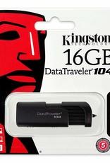 Kingston Kingston 16GB Flash Drive USB 2.0 DT104/16GB