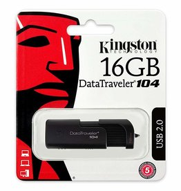 Kingston Kingston 16GB Flash Drive USB 2.0 DT104/16GB