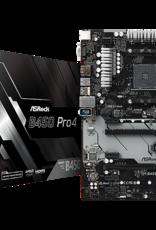 Asrock Asrock B450 Pro4 AM4 Ryzen HDMI VGA Display Port