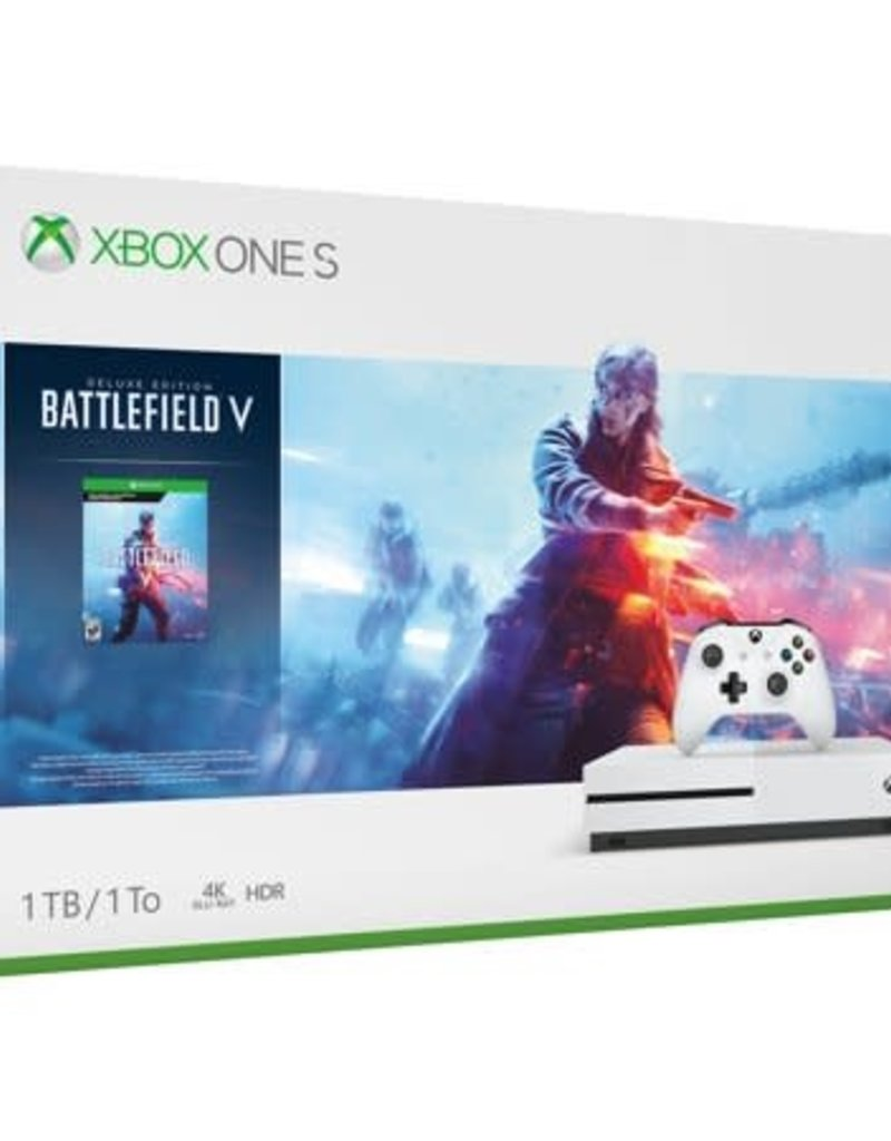 Xbox One S 1TB Console with Battlefield V Bundle