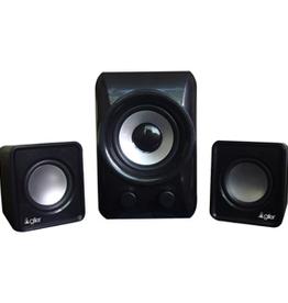 Agiler Aglier 2.1 USB Speaker with volume and bass AGI-3077BK