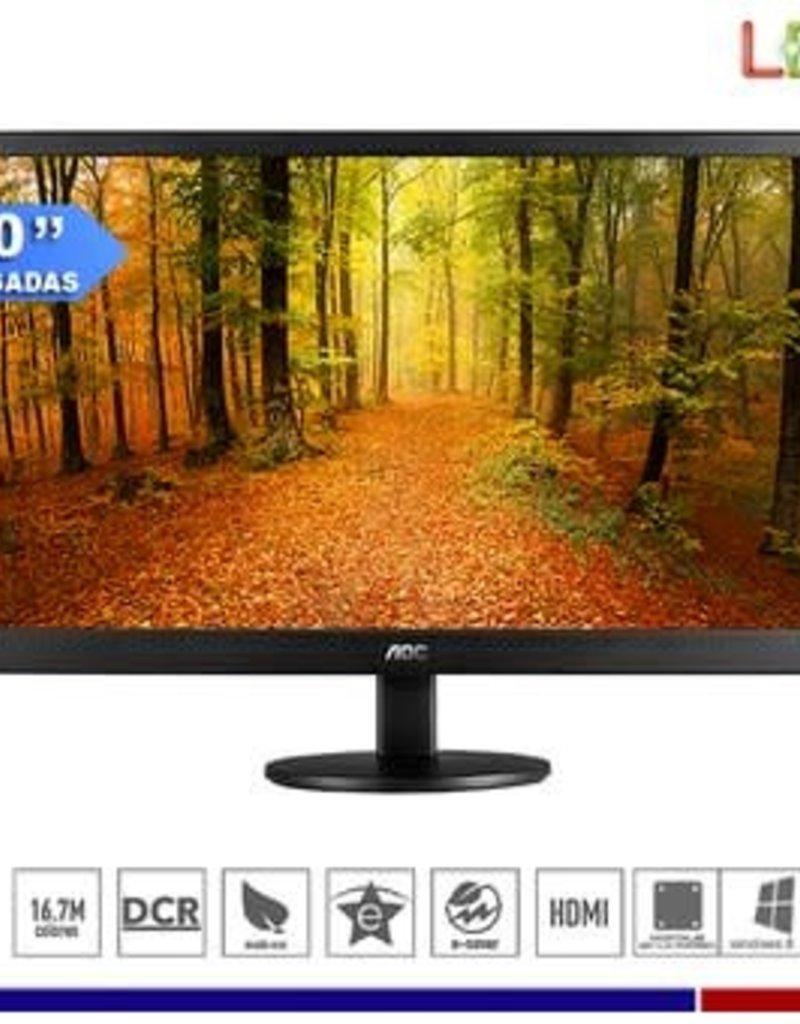 """AOC AOC E2070SWHN 19.5"""" HDMI / VGA Monitor"""