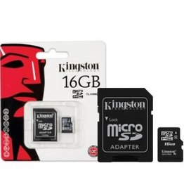 Kingston Kingston 16GB MicroSDHC Class 4 SDC4/16GB