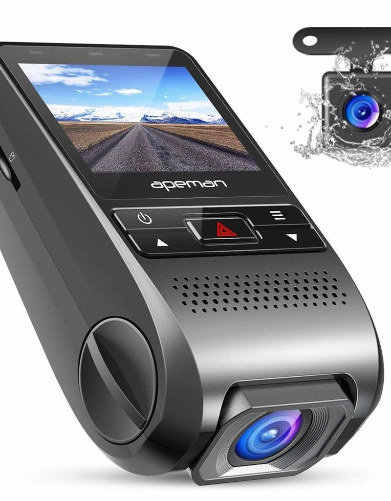 "APEMAN C550 Dash Camera 1080P HD 3.0"" LCD"