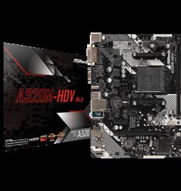 Asrock Asrock A320M-HDV AM4 R4.0 65W Only DDR4