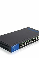Linksys Linksys 8 Port With 4 Port POE+ Gigabit Unmanaged Switch LGS108P
