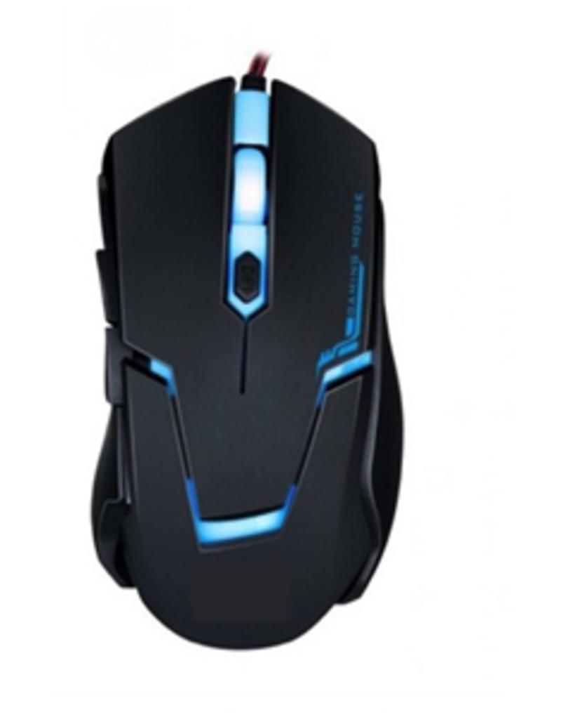 Agiler Agiler Rubber Black Gaming Mouse 2400DPI 6 Buttons AGI-2100