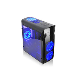 Agiler Agiler Gamers ATX Case with USB 3.0 4LED 120MM Blue Fan AGI-C010