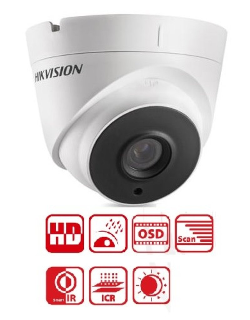 Hikvision Hikvision 3MP Dome Camera IP66 DS-2CE56F1T-IT1
