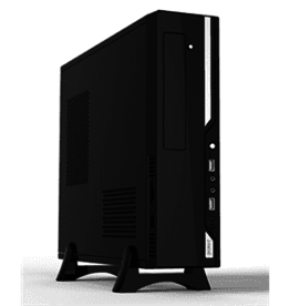 Agiler Agiler Ultra Slim Micro ATX Case With 600W AGI-C004 BLACK