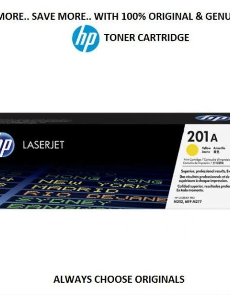 HP HP CF402A 201A Yellow Toner