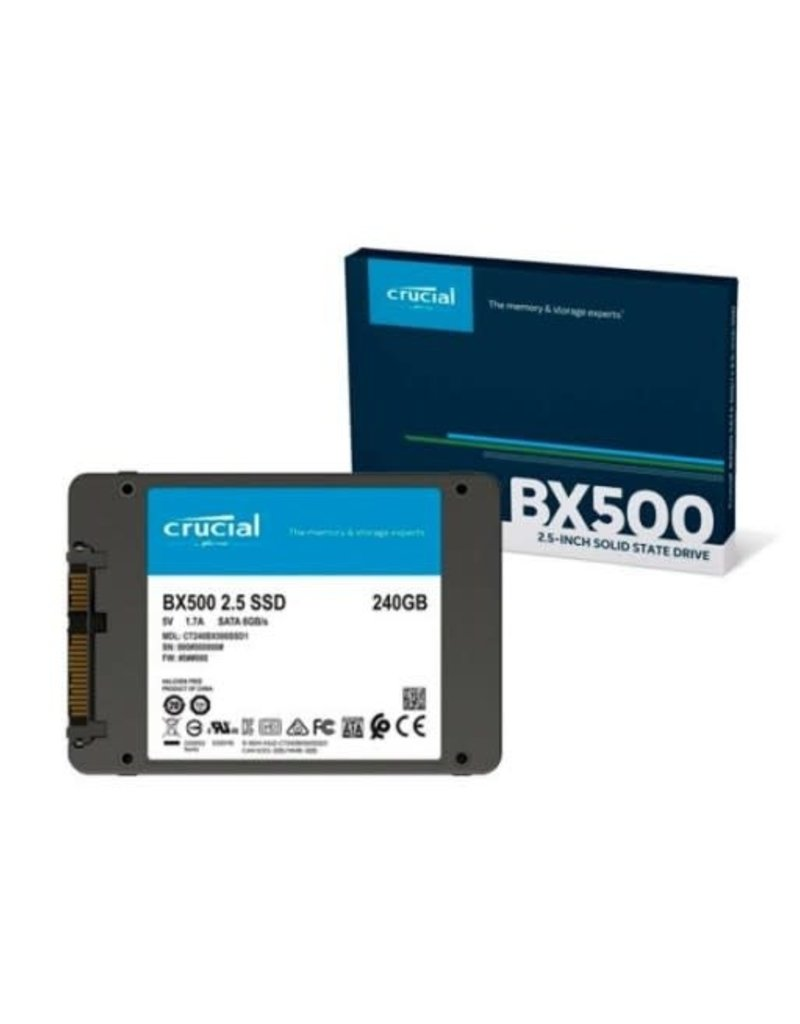 Crucial Crucial® BX500 240GB 3D NAND SATA 2.5-inch SSD CT240BX500SSD1