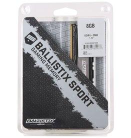 Ballistix Ballistix Sport Gaming Memory 8GB (1x8GB) 2666 MHz CL16 BLS8G4D26BFSBK