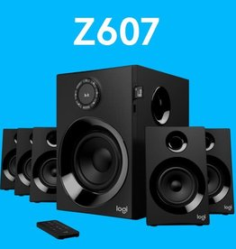 Logitech Logitech Z607 5.1 Surround Sound Speakers Bluetooth USB SD FM Radio