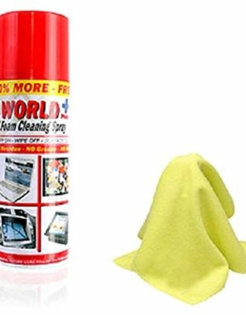 WORLD PLUS Industrial Electronics Foam Cleaning Spray