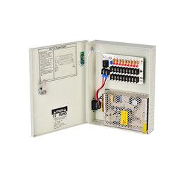 OCB OCB 9CH 15A CCTV Power Supply Box OCB-PS9DC15EC